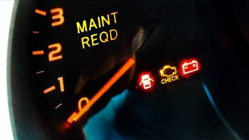 5 Secrets Your Car Mechanic Doesn't Want You to Know - Maintenance Required Light